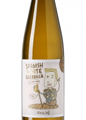 Spanish White Guerrilla Riesling Blanco 2015