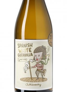 Spanish White Guerrilla Chardonnay Blanco 2016