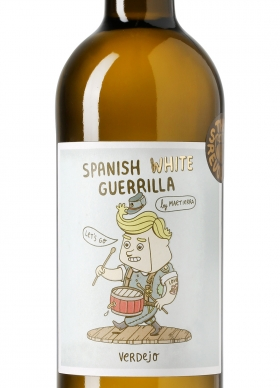 Spanish White Guerrilla Verdejo Blanco 2015