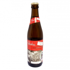 Cerveza Pinkus sin alcohol botella 33 cl.