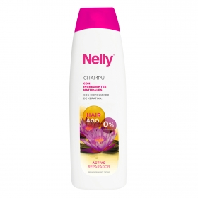 Champú con ingredientes naturales Nelly 600 ml.
