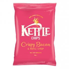 Patatas fritas sabor bacon y miel de marple Kettle 150 g.