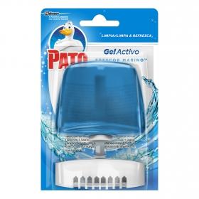 Colgador WC frescor marino líquido aparato + recambio Pato 1 ud.