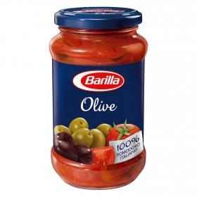 Salsa con aceitunas Barilla tarro 400 g.