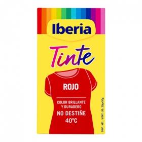 Tinte para la ropa rojo 40ºC 2 sobres + fijador
