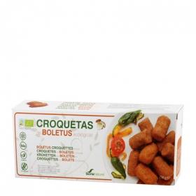 Croquetas de Boletus ecológicas Soria Natural 250 g.