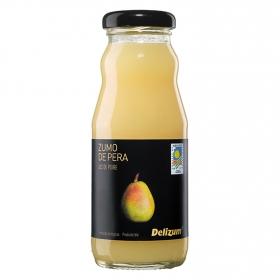 Zumo de pera ecológico Delizum botella 20 cl.