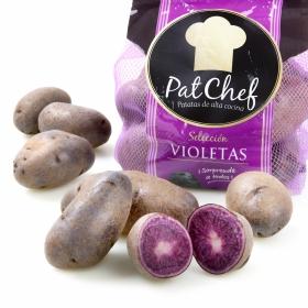 Patata violeta selecta