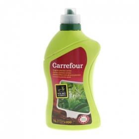 Fertilizante líquido para planta verde