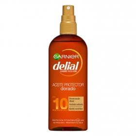 Aceite solar factor de protección 10 Delial 150 ml.