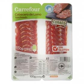 Cabecero de lomo Carrefour sin gluten 100 g.