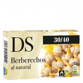 Berberechos al natural 30/40 DS Dani sin gluten 58 g.
