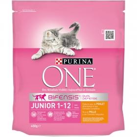 Comida para gatos Junior con Pollo