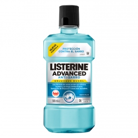 Enjuague bucal Anti-Sarro Listerine 500 ml.