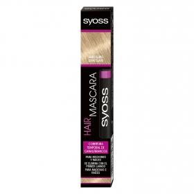 Cobertura temporal de canas Rubio Claro Hair Mascara Syoss 1 ud.