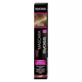 Cobertura temporal de canas Rubio Oscuro Hair Mascara Syoss 1 ud.