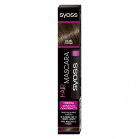 Cobertura temporal de canas Castaño Hair Mascara Syoss 1 ud.