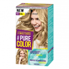 Tinte 9.0 Virgin Blonde #Pure Color Schwarzkopf 1 ud.
