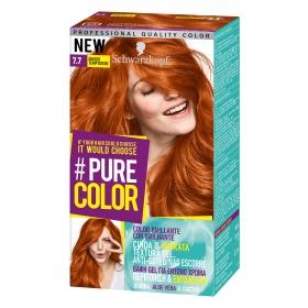 Tinte 7.7 Ginger Temptation #Pure Color Schwarzkopf 1 ud.