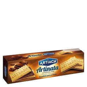 Galletas de barquillo rellenas chocolate Artiach 210 g.