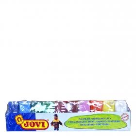 Bandeja pastillas plastilina de 50g colores surtidos