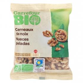 Nueces peladas ecológicas Carrefour Bio 90 g.