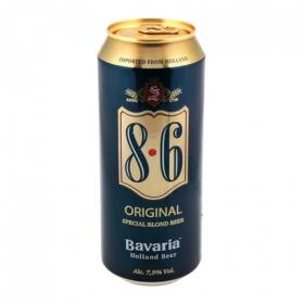 Cerveza 8.6 original