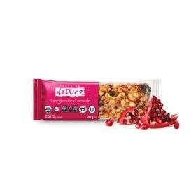 Barrita de frutos secos, semillas, cacahuetes y granada ecológica Taste of Nature 40 g.
