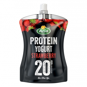 Yogur líquido de fresa Protein Arla 200 g.