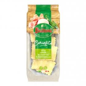 Raviolli de guisantes, jamón y mozzarella Buitoni 230 g.