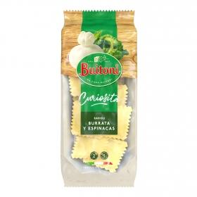 Ravioli burrata de espinacas Buitoni 230 g.