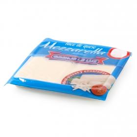Taco de queso Mozzarella fundido