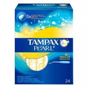 Tampones Pearl regular Tampax 20 ud.