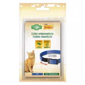 Collar antiparasito azul gato