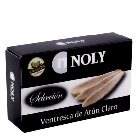 Ventresca de atún claro en aceite de oliva Noly 78 g.