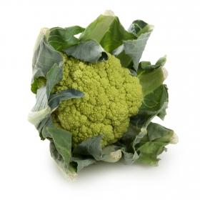 Coliflor verde envase de 1 Kg aprox.