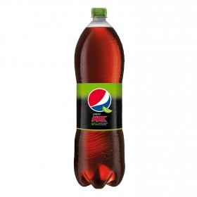 Refresco de cola Pepsi Max a la lima zero azúcar botella 2 l.