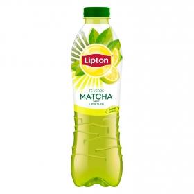 Refresco de té verde matcha Lipton sabor lima yuzu botella 1 l.