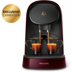 Cafetera Philips L'or Barista System Rojo