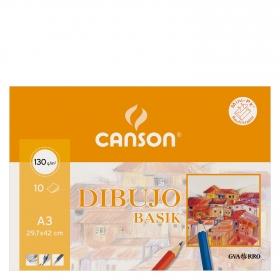 Cuaderno Dibujo Minipack Basik A3 Liso