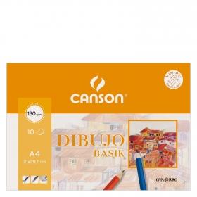 Cuaderno Dibujo Minipack Basik A4 Liso
