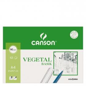 Papel Dibujo Minipack Vegetal A4