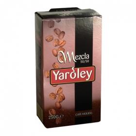 Café molido mezcla Yaroley 250 g.