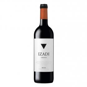 Vino D.O. Rioja tinto crianza Izadi 75 cl.