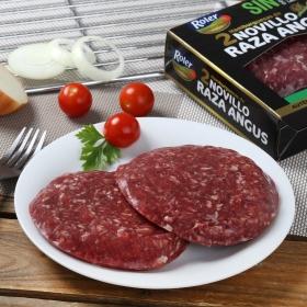 Hamburguesa ternera lechal sin aditivos