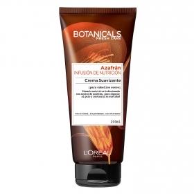 Crema suavizante Azafrán Infusión de Nutrición para cabellos secos