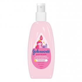 Acondicionador spray Gotas de brillo Johnson's 200 ml.