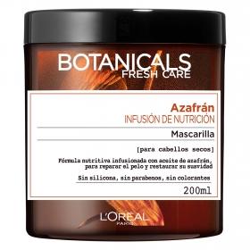 Mascarilla Azafrán Infusión de Nutrición para cabellos secos