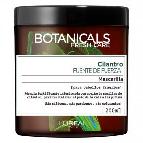 Máscarilla Cilantro Fuente de Fuerza para cabellos frágiles