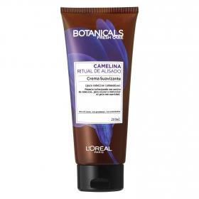 Crema suavizante Camelina Ritual de Alisado para cabellos indomables L'Oréal-Botanicals 200 ml.